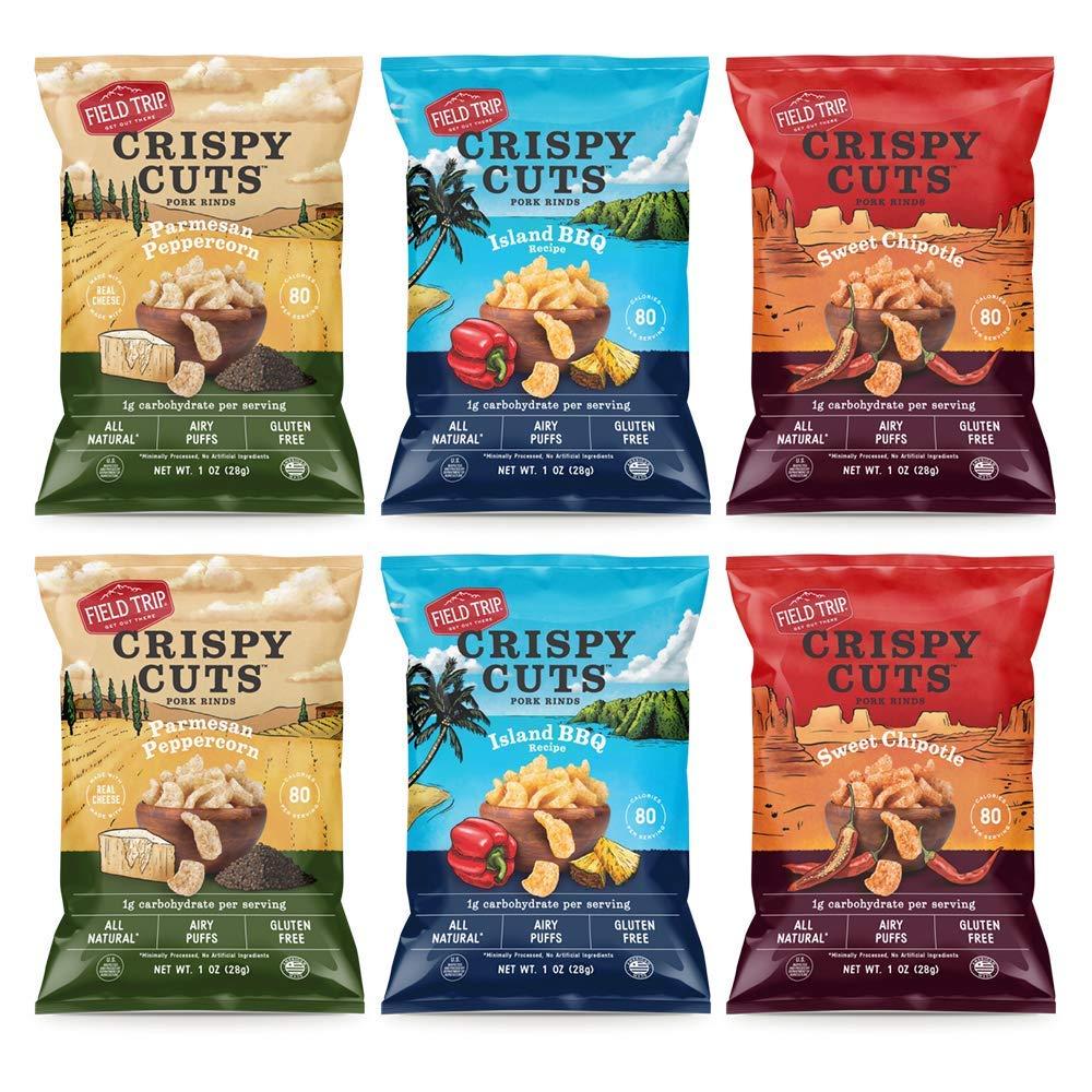 Field Trip Crispy Cuts Pork Rinds kids will love