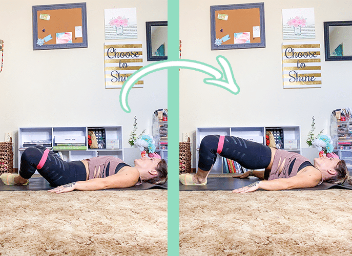 Firm and Tighten Your Butt with Resistance Bands