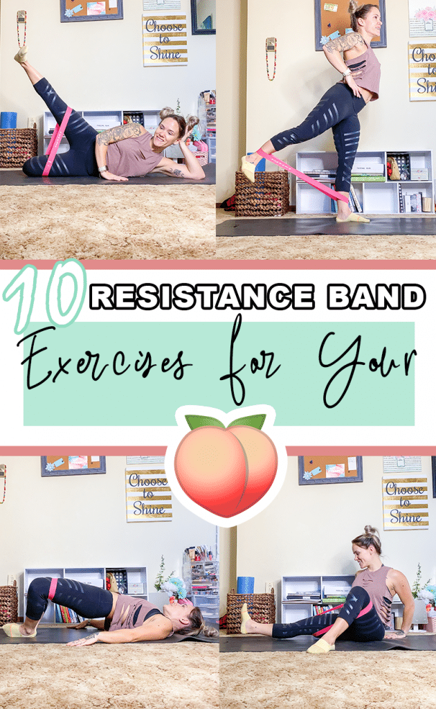 Resistance Band Exercises to Lift and Tone your booty