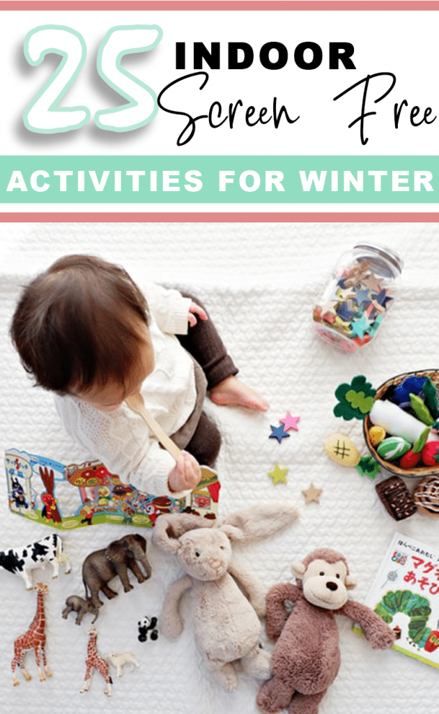 25 Screen-Free Activities for Winter that build skills, keep kids active, and offer extreme entertainment