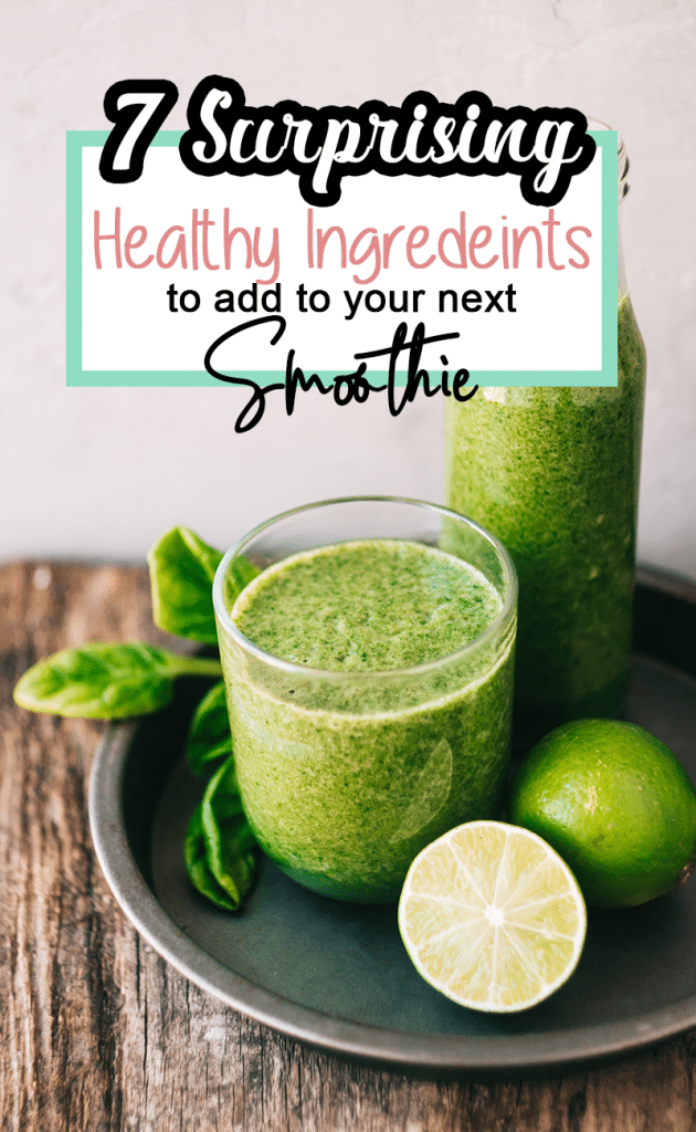 7 Health Boosting Ingredients to add to your next morning smoothie