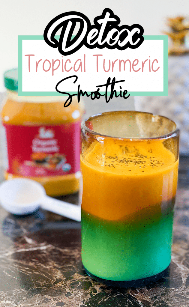Detox Smoothie: Tropical Turmeric with Ginger