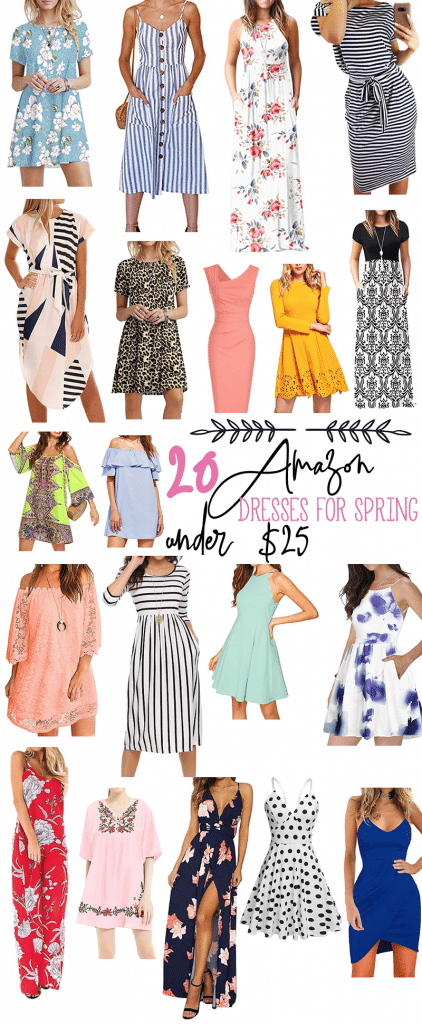 20 Amazon Dresses Under $25: Spring Dresses on a Budget