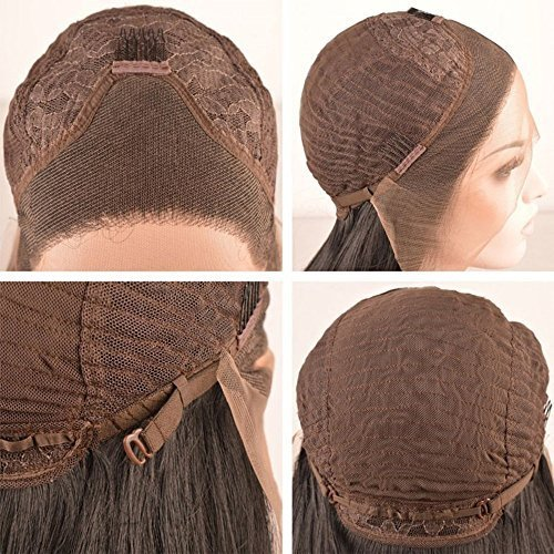 Lace-Front Wig with 3 clips