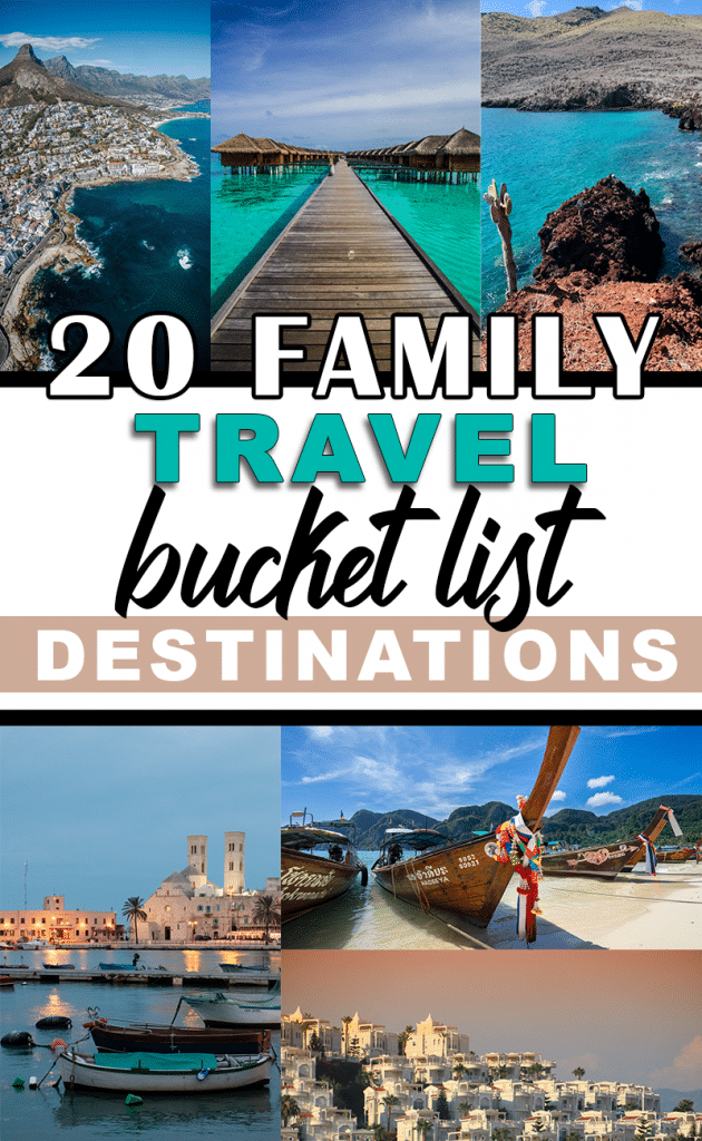20 Magical Family Travel Destinations for Families with Children