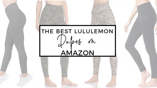 The Best Lululemon Dupes on Amazon