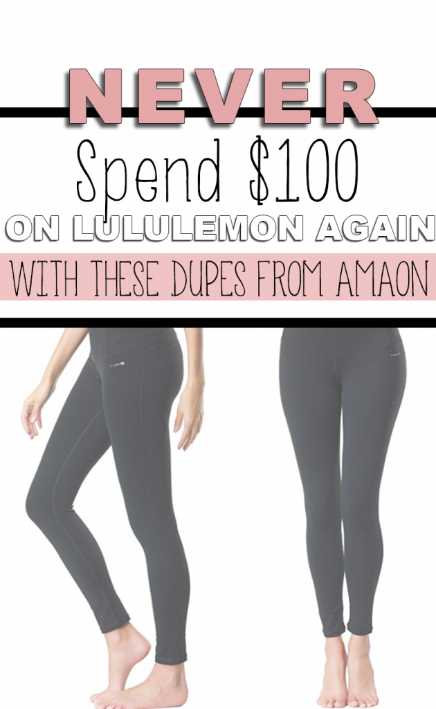The Best Lululemon Align Dupes on Amazon for under $30. Never spend $100 on a pair of gym leggings again.