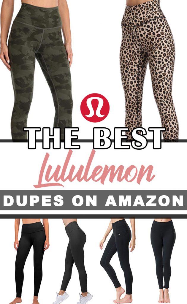 Top-rated and reviewed workout leggings on Amazon under $30. These are dupes of the cult-favorite Lululemon Align leggings.