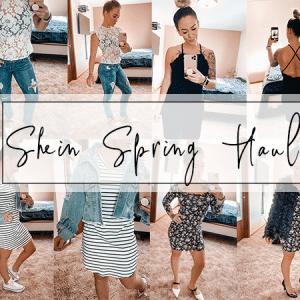 Shein Haul: Spring Fashion on a Budget