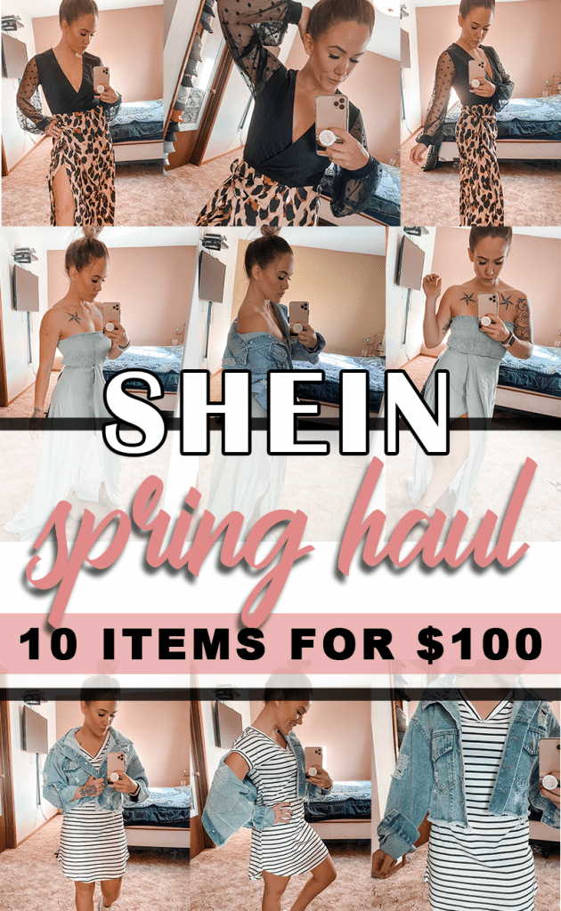 Shein Haul: Spring Fashion 2020. 10 items for $100 with FREE Express shipping