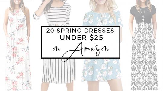 20 Amazon Dresses Under $25