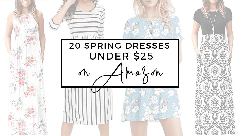 20 Spring Dresses on Amazon Under $25