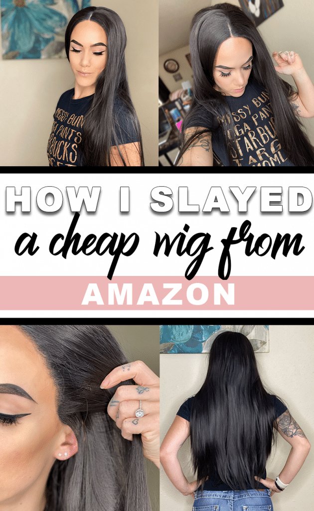 How to slay a cheap synthetic wig.