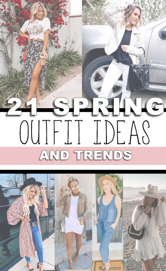 Spring Outfit Inspo in 21 pictures
