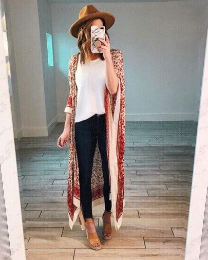 Kimono and Hat Style