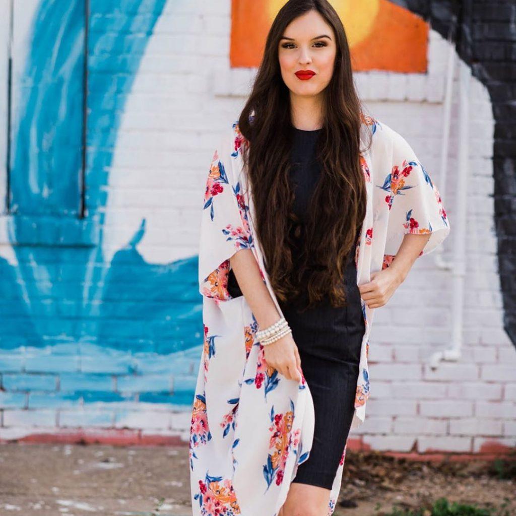 Spring Outfit Ideas: Kimono Style