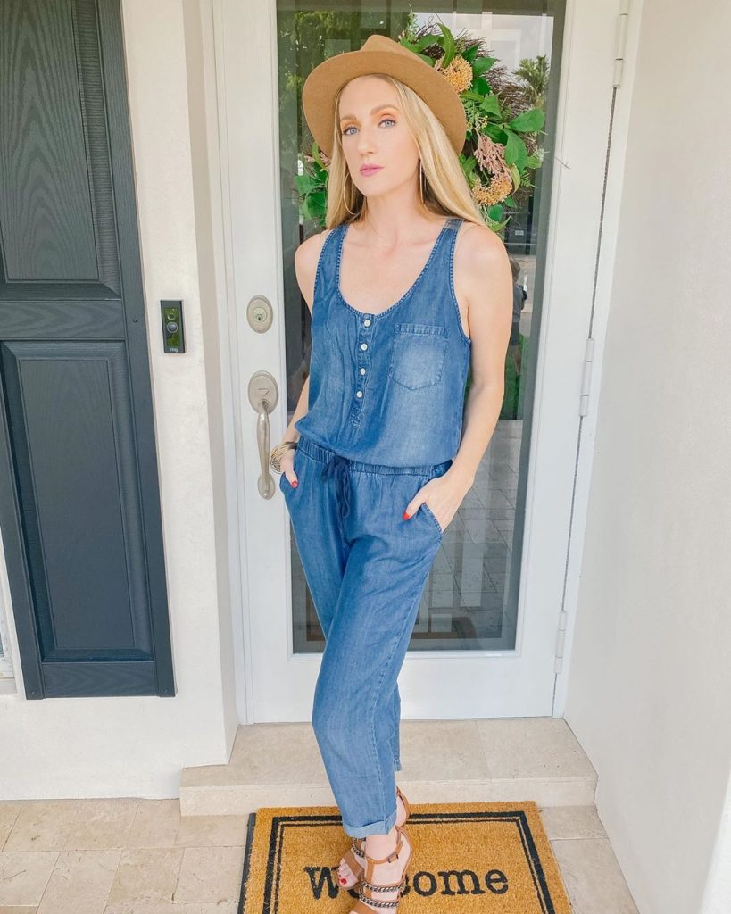 Spring Fashion: Denim Jumpsuit