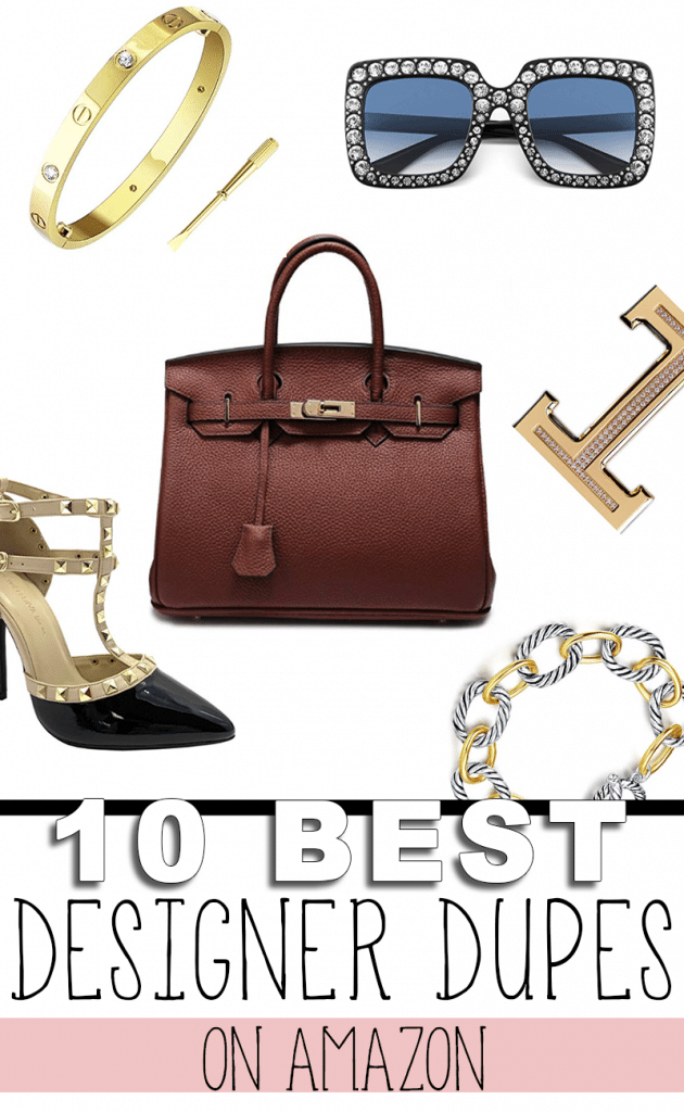 Look like a million dollars on a budget. Here are 10 amazing Designer Dupes on Amazon