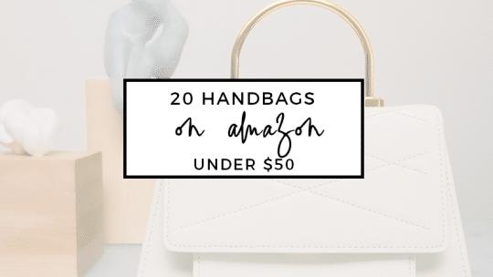 20 Handbags on Amazon Under $50