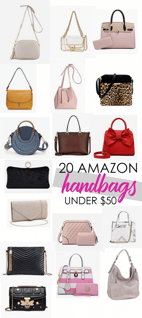 Designer Style on a Budget: Get these 20 Handbags on Amazon for Under $50 and look like a millionaire