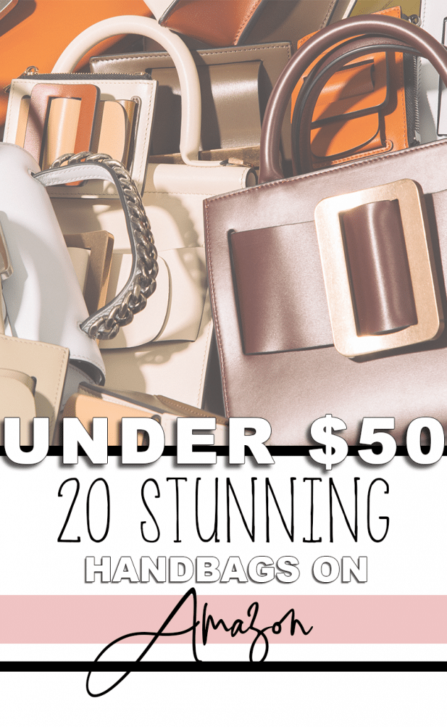 20 Handbags on Amazon Under $50