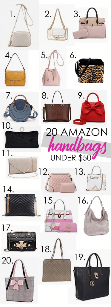 20 Handbags on Amazon for Under $50. Fashion on a Budget