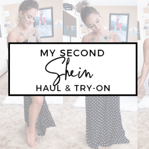 Shein Try-On and Haul March 2020