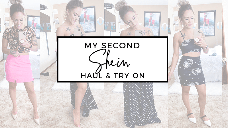 March 2020: My Second Shein Try-On and Haul