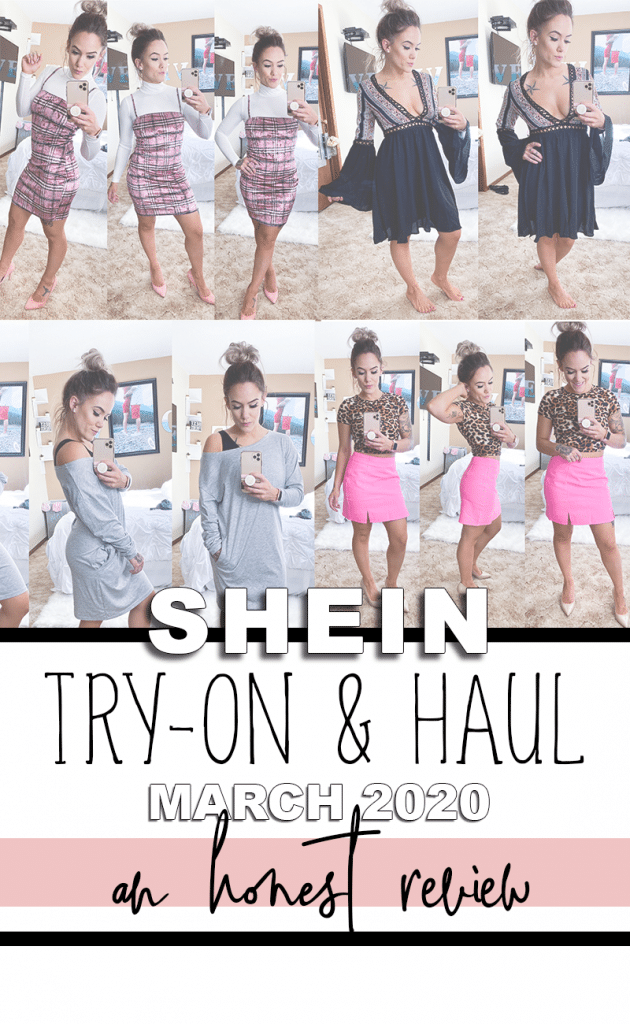 Shein Official Try-On and Haul for Spring and Summer 2020