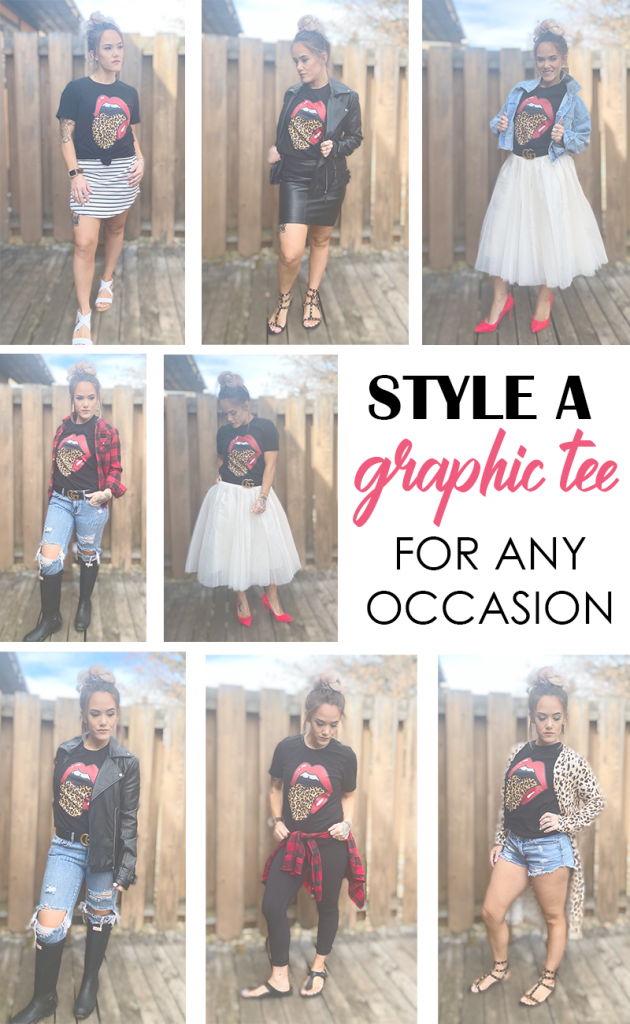 11 Ways to Style a Graphic Tee