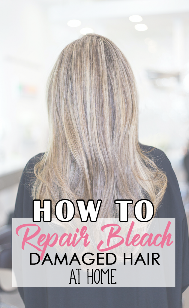 Blonde Hair: How to Repair Bleached Hair at Home