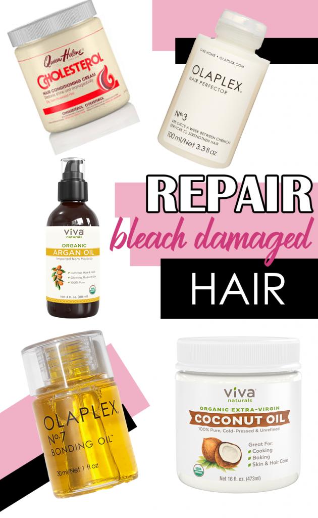 How to Repair Bleach Damaged Hair