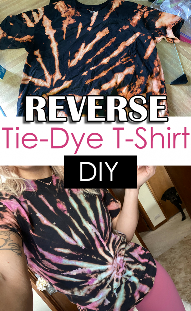 How to Reverse Tie-Dye a T-Shirt with Bleach