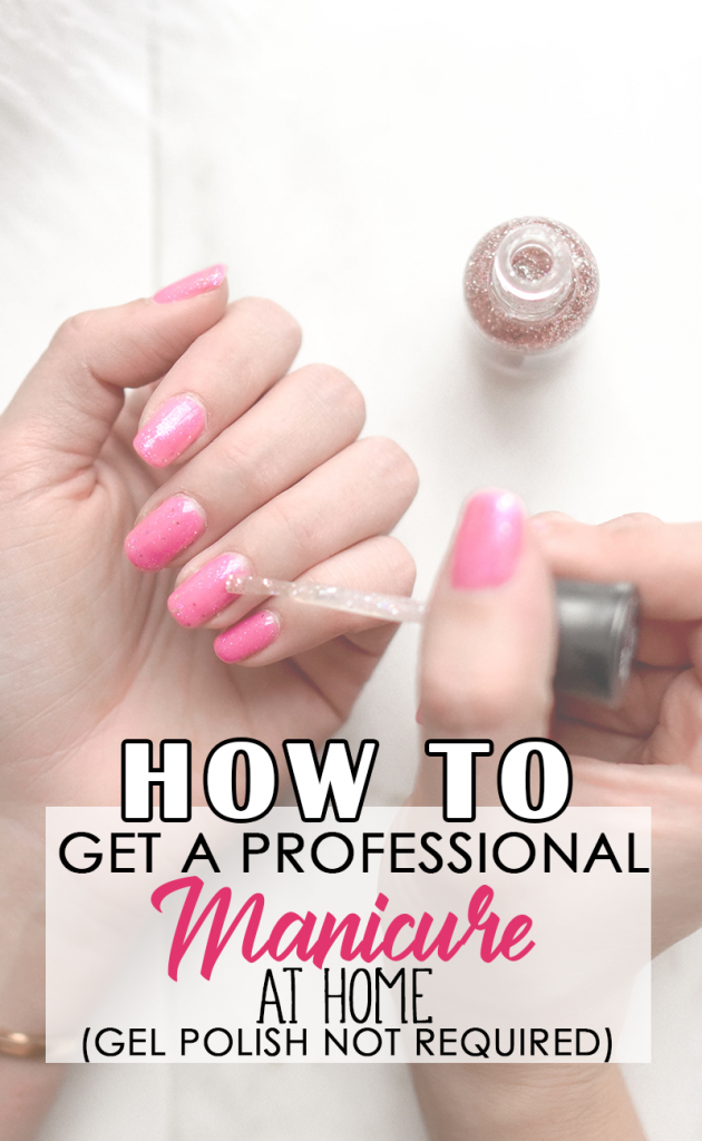 Get a long lasting salon quality manicure at home